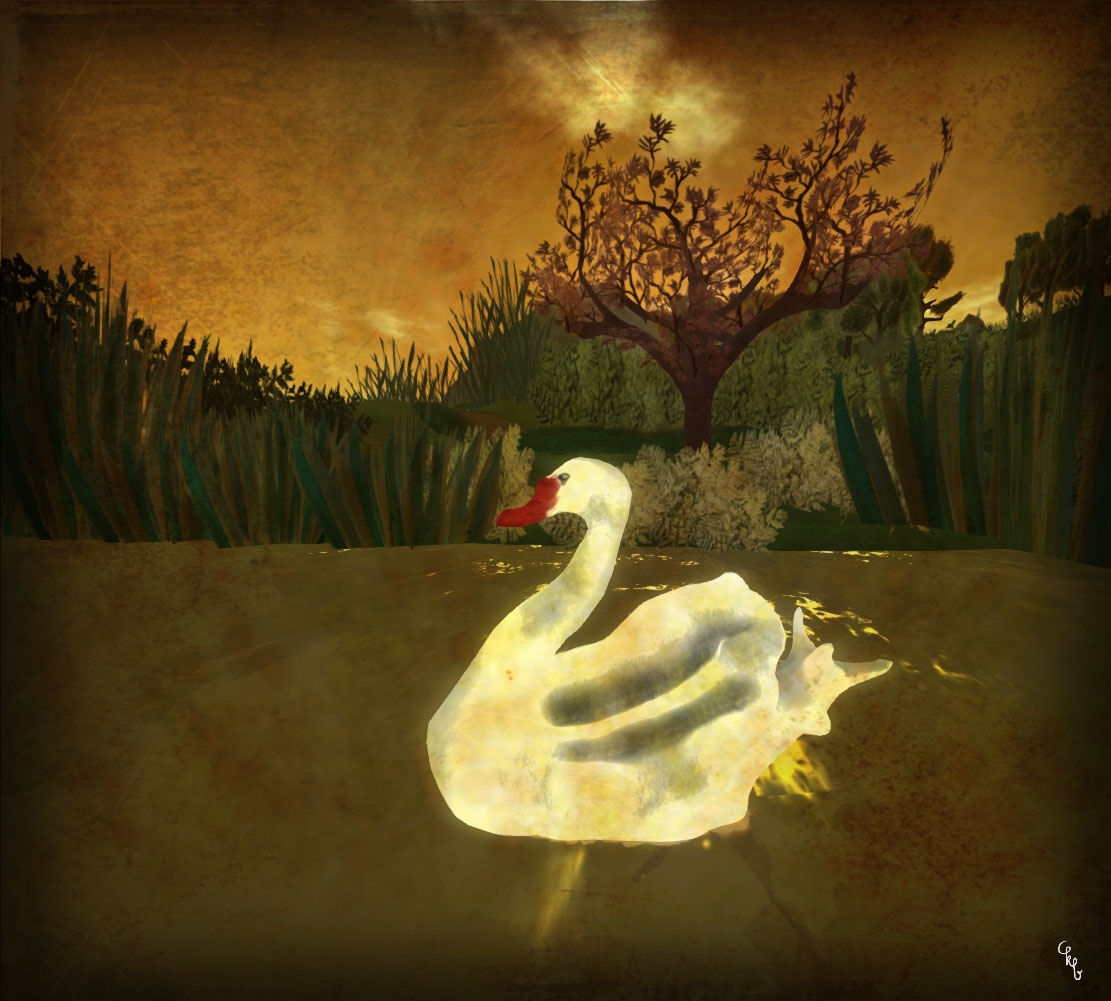 Niamh's Journey - White Swan